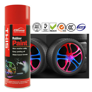 Fast Dry 4Liter Water Removable Peelable Spray Rubber Paint For Cars
