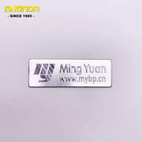Custom metal engraving name plate and silver stainless steel nameplate