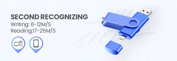 USB U Disco de alta Velocidade OTG 8 gb gb 32 16 gb Micro USB Flash Drive OTG