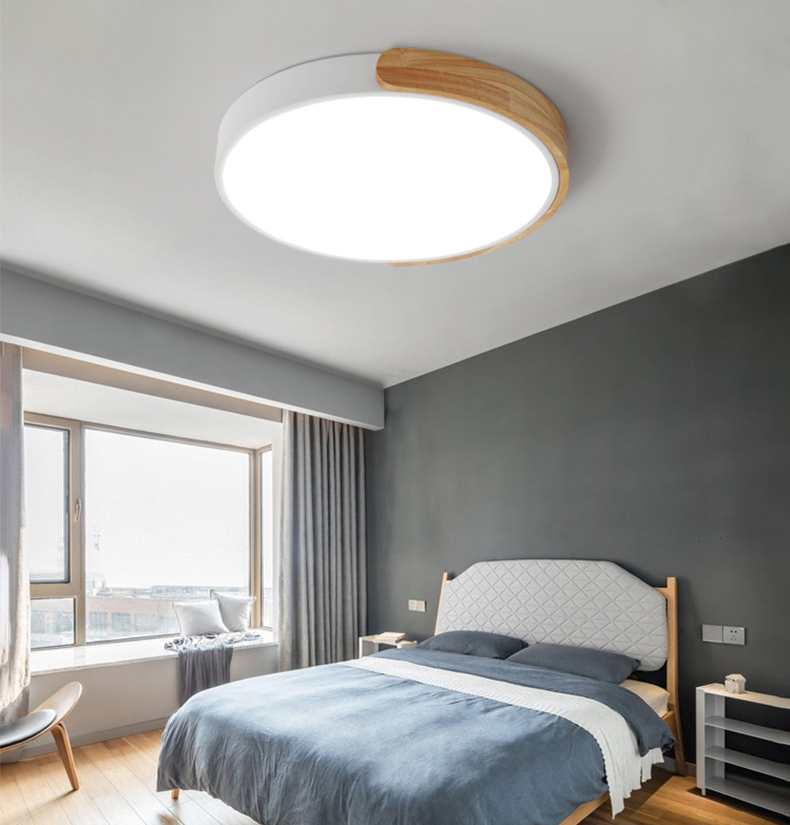 NEW trend product!!Ultra Thin 5cm China Modern flush mount shape indoor use 2019 innovative new product