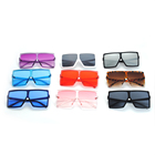 High quality oversized pc square shape 2020 fashion sunglasses for unisex