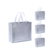 Durable long-lasting metallic silver aluminum lamination non woven shopping bag