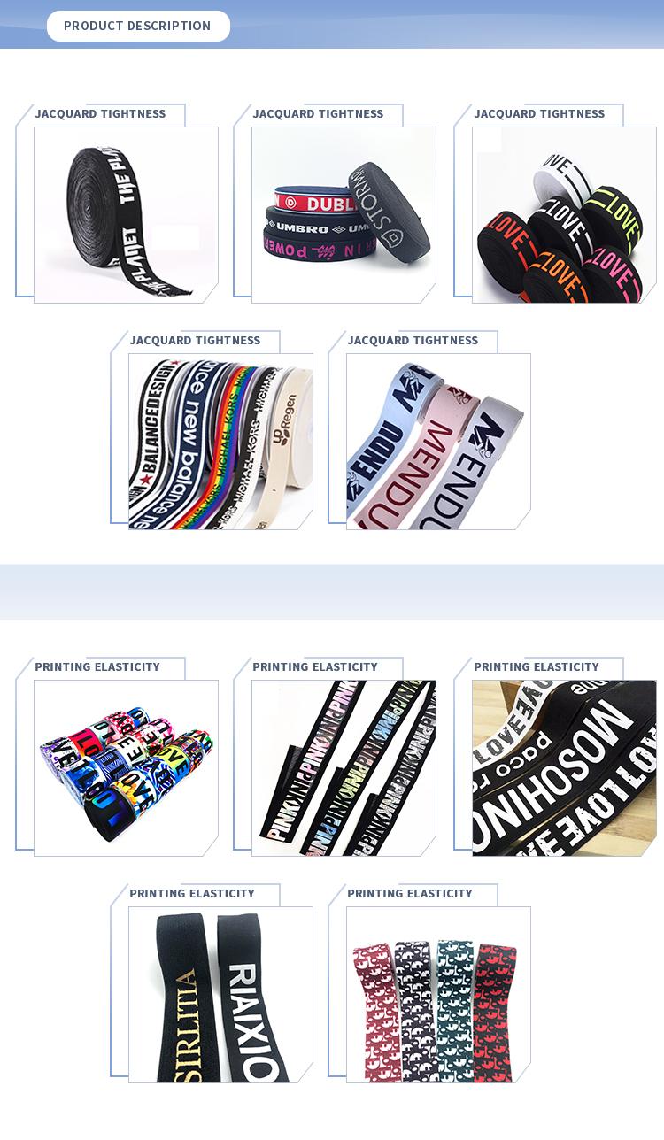 Custom Ondergoed Sport Schoenen Print Gevlochten Nylon Elastische Jacquard Singels Fabrikanten