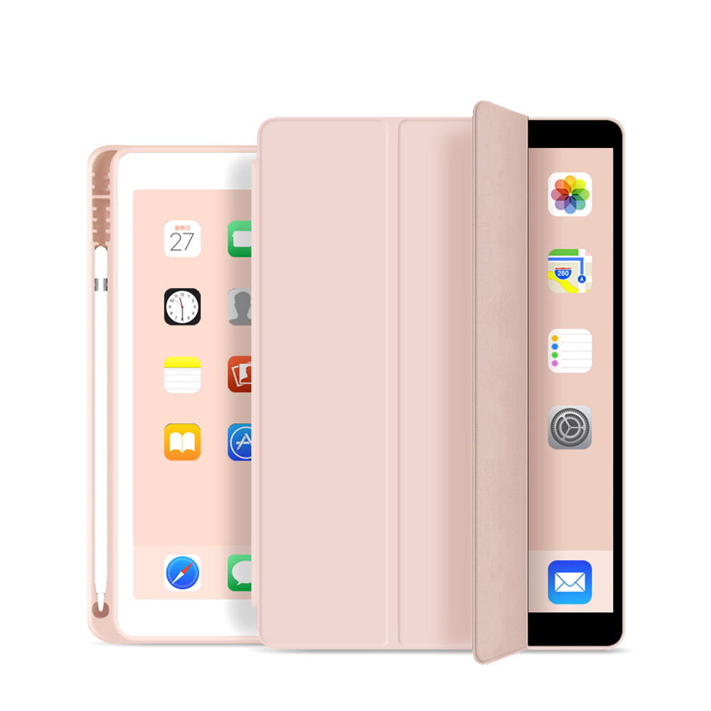 Case Fit New ipad 7th Generation 10.2 2019 /ipad 10.2 Case-Thin and Light Trifold PU Leather Good Protection for ipad 10.2 2019