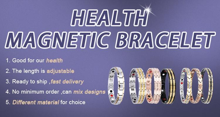 4 в 1 энергетический элемент здоровье ювелирные изделия из нержавеющей стали био магнитный терапевтический браслет