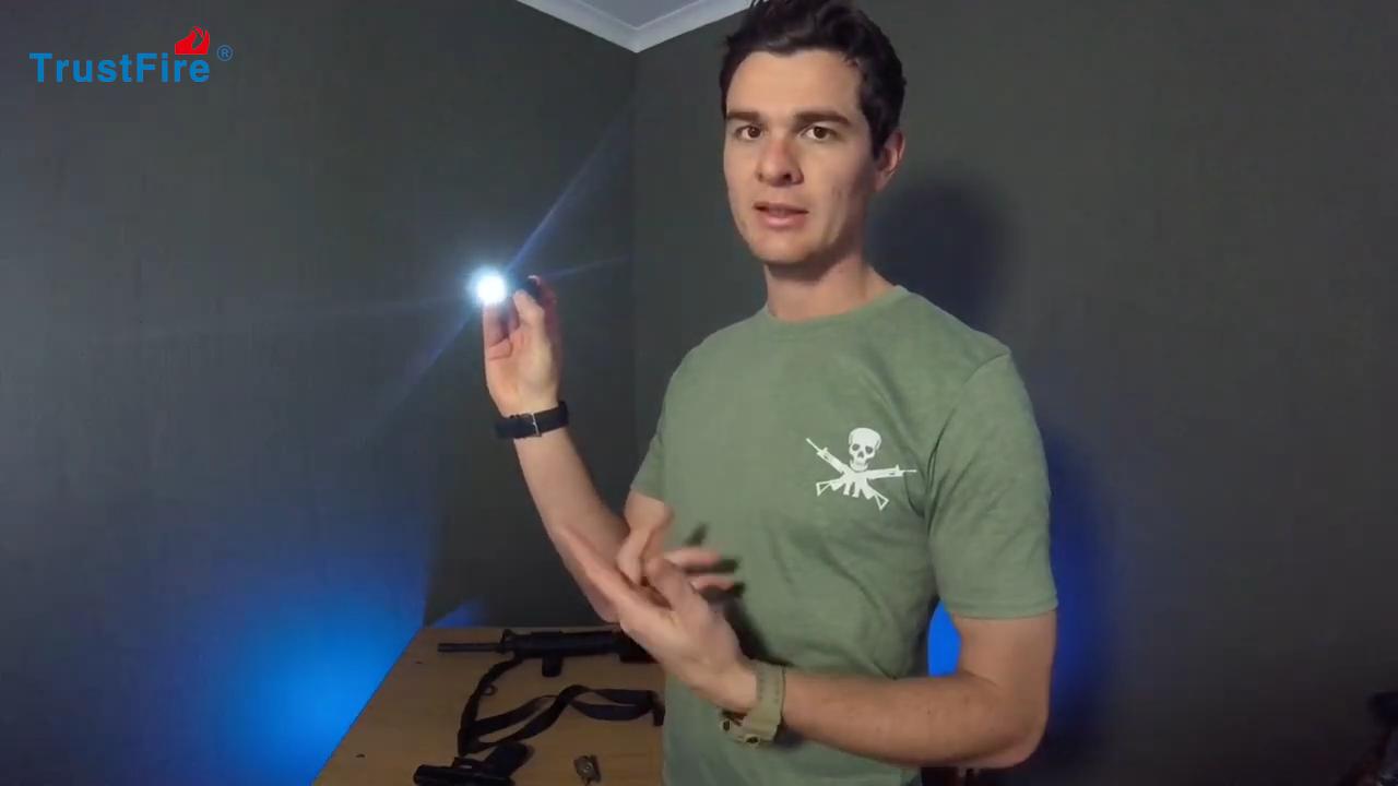air riffle gun hunting TrustFire GM23 LED Ultra Compact PISTOL Flashlight