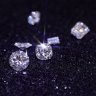 Diamond Cut Cvd DEF Color VS Purity Well Polished 3mm Round Diamond Cut HPHT Lab Grown CVD Diamond