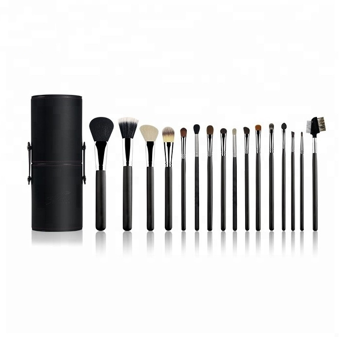 OEM Service <strong>High</strong> <strong>quality</strong> 16 pcs natural hair luxury <strong>makeup</strong> <strong>brushes</strong>