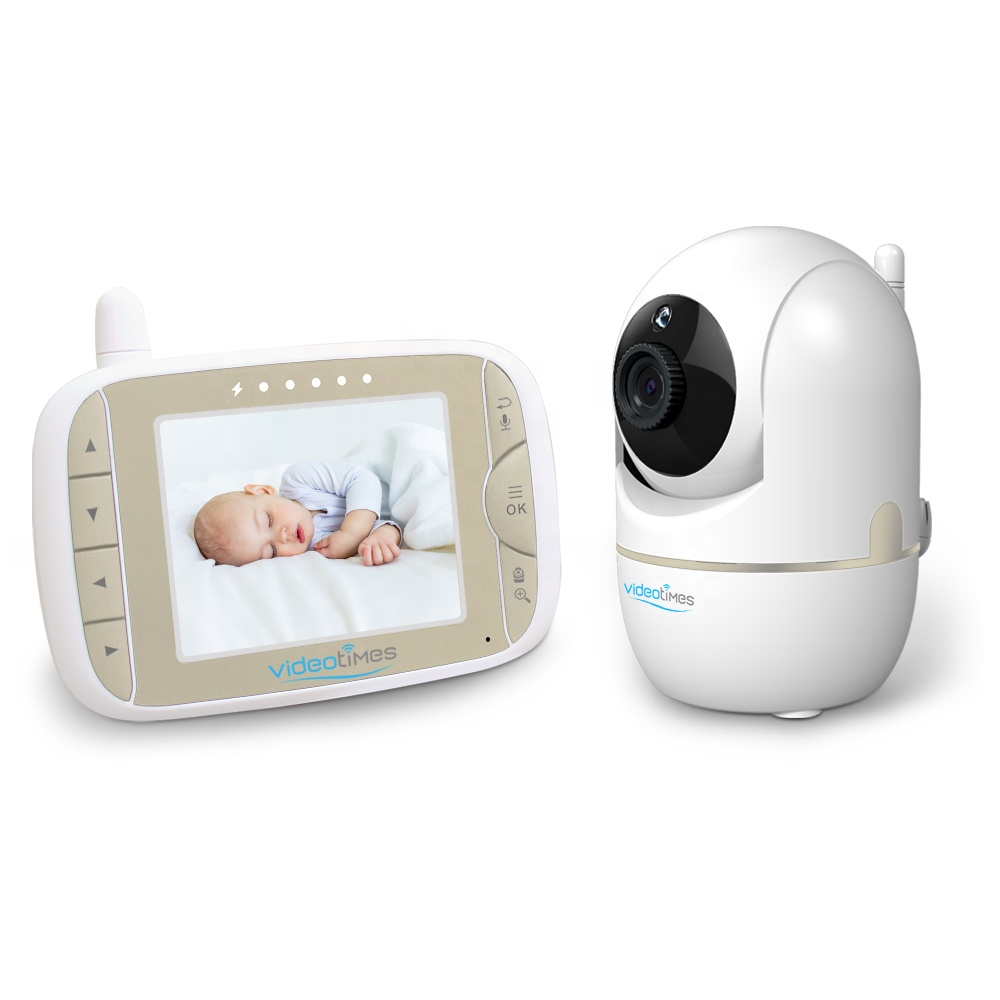 3.2 Inch wireless baby camera remote control baby foon video baby monitor