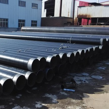API 5L 3PE 3LPE Anti-Corrosion Coating Spiral Welded Steel Pipes