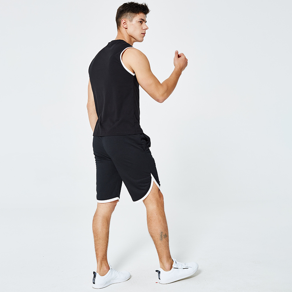 wholesale Custom breathable quick-drying Gym Vest Fitness shorts pants