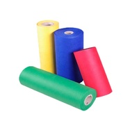 Colorful tnt 100% polypropylene pp spunbond non woven fabric roll material