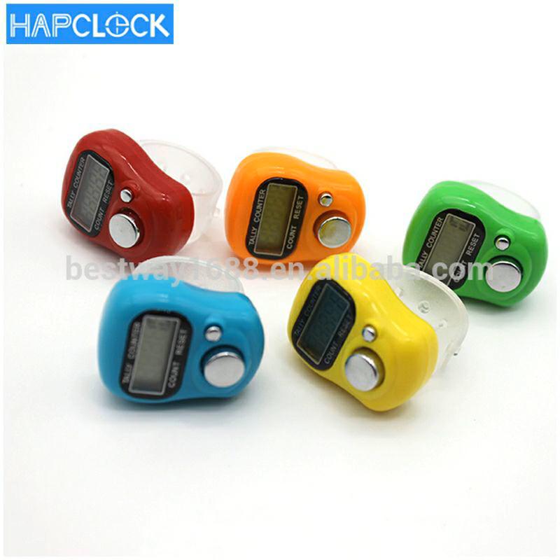 LCD Điện Tử Nhựa Kỹ Thuật Số Hồi Giáo Truy Cập Finger Ring Hand Tally Counter Cho Tùy Chỉnh