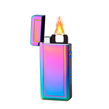 Laser Induction Arc Lighter X Plasma Lighters ,Rechargeable USB Electric Lighter with LED Display Power