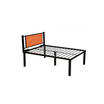 Custom Size Dormitory Industry Metal Single Bed Frame Modern