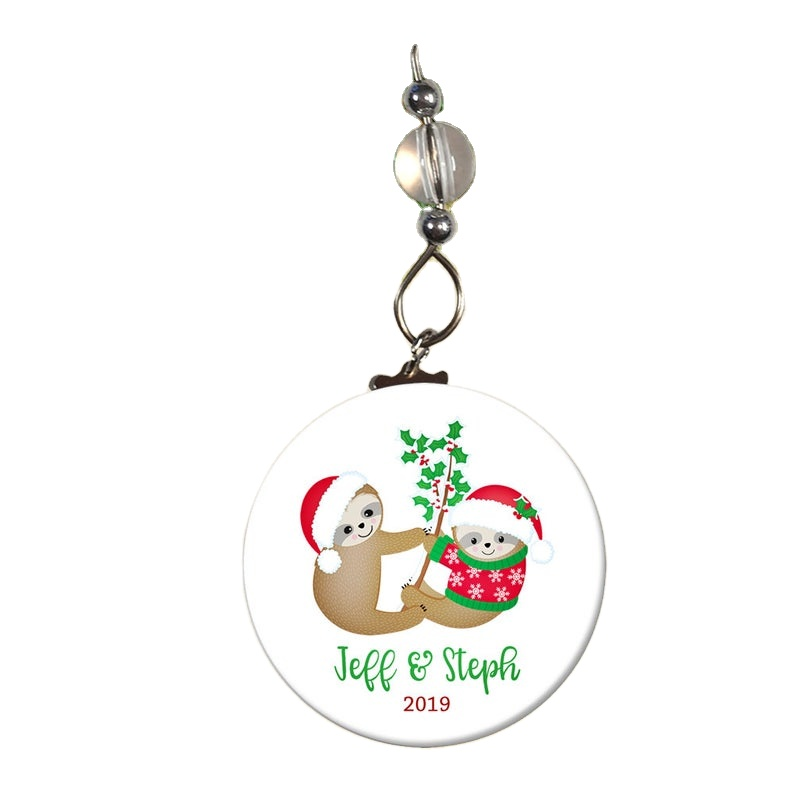 Sloth Ornament- Sloth <strong>Christmas</strong> Ornament- <strong>Babys</strong> <strong>First</strong> <strong>Christmas</strong>