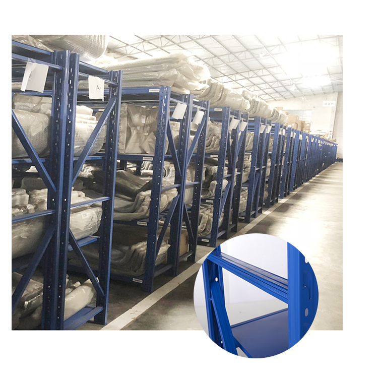 used heavy duty storage racks metal shelving material