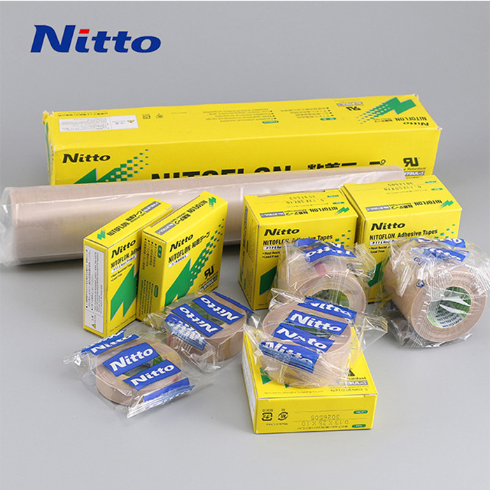 Free shipping Heat Resistant Silicone Adhesive nitto tape 973ul-s With PTFE Film