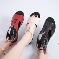 new latest fashion breathable sandals women beach shoes casual sandals