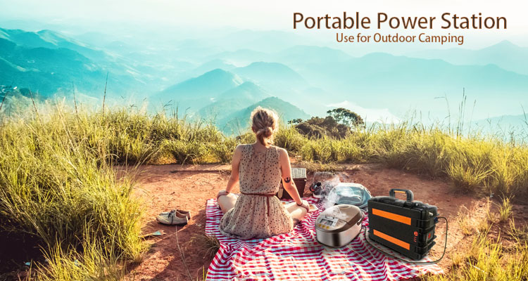 Solar power station portable 3000W 300ah lithium solar generator for Household RV Traveling Camping