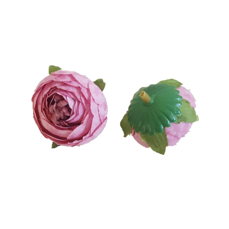 QSLH-M0010 Decorative silk artificial <strong>rose</strong> <strong>heads</strong>