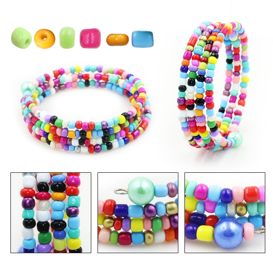 Japonais perles de verre pour la fabrication de bijoux en vrac cristal lampwork perles d'espacement pour bracelets taille perles charmes accessoires DE BRICOLAGE
