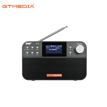 Promotion High Quality GTMEDIA Z3 Home Slim Rechargeable Portable Combo MP3 Alarm/Clock DAB FM Radio