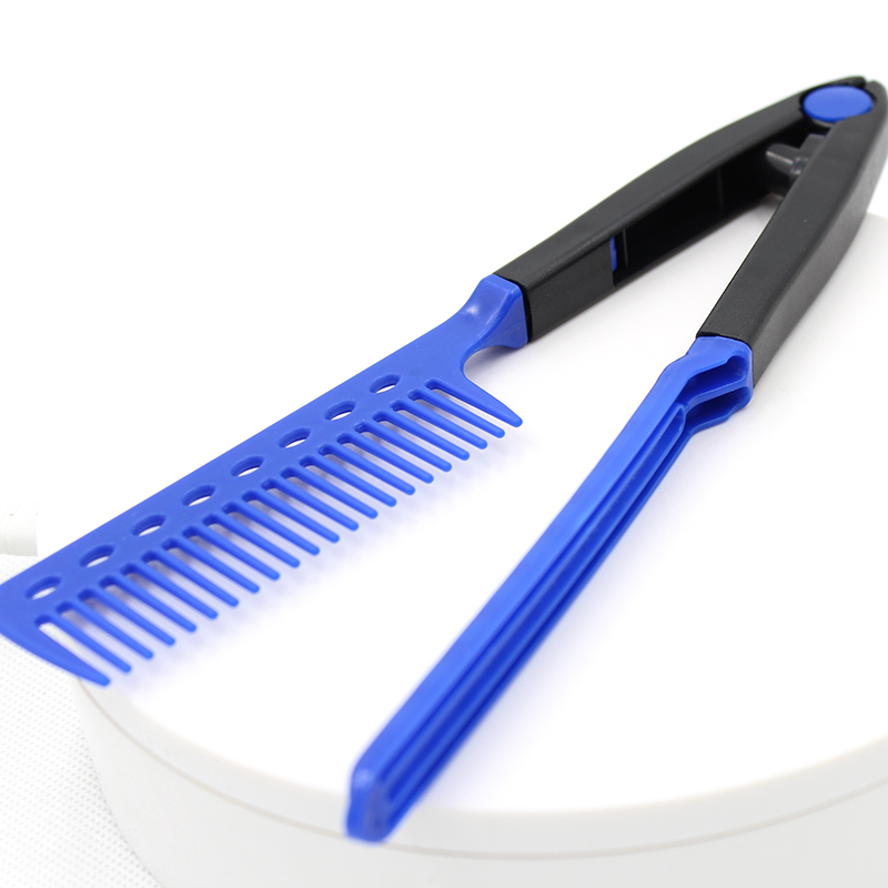 Wholesale Plastic <strong>Hair</strong> <strong>Comb</strong> <strong>Steel</strong> Needle <strong>Comb</strong> blue Carbon Fiber <strong>Comb</strong>