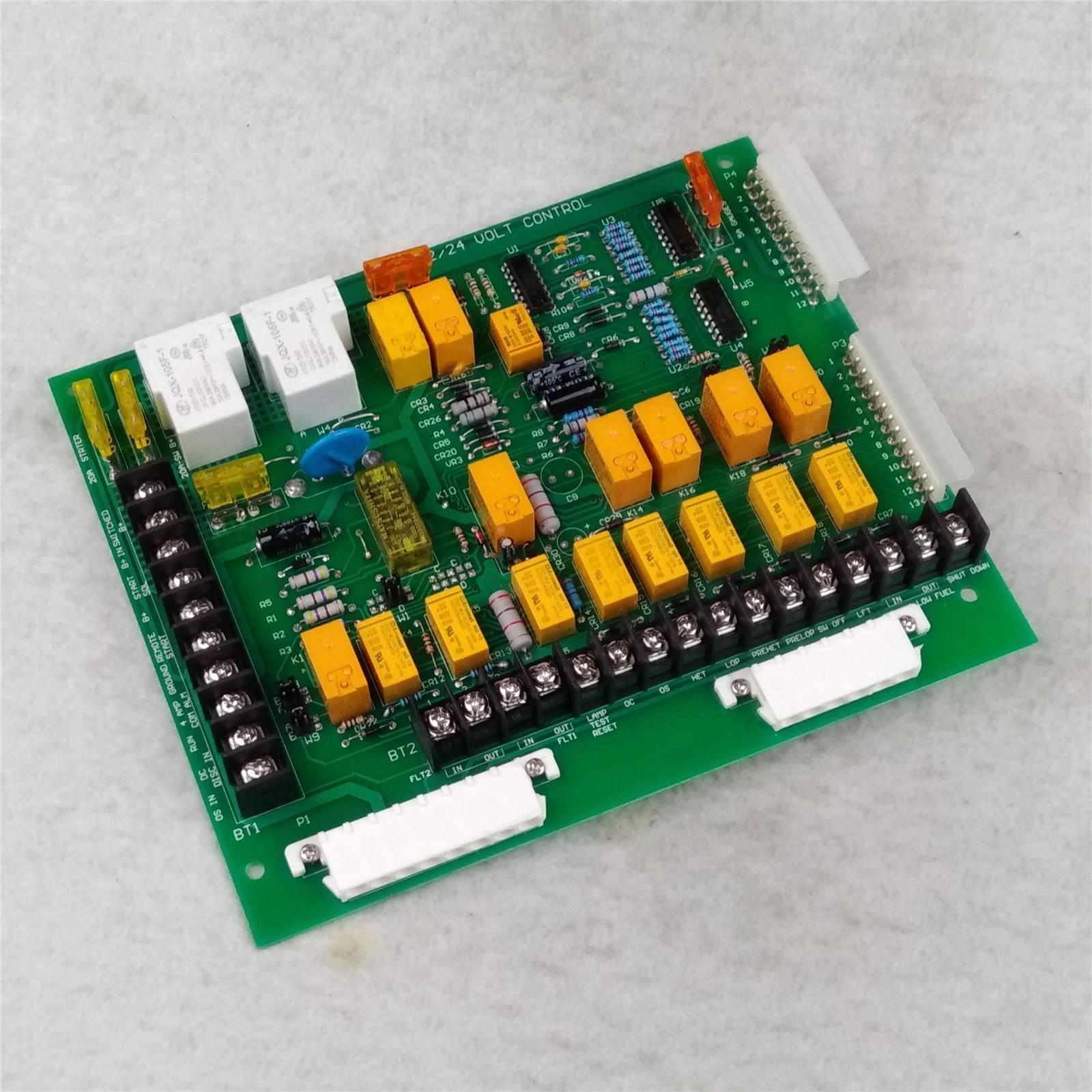 Friday Part Generator Detector Control Board 24V 12 Lights for Onan Control Board 300-2812