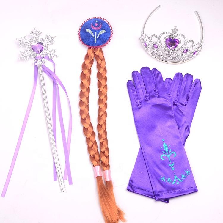 OEM Caldo di Bambini Della Principessa Delle Ragazze Elsa congelato Tiara Crown Hairband Festa di Compleanno Accessorio per I Bambini Le Ragazze