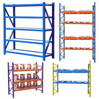 warehouse industrial storage wheels rack for pallet shelf shelves shelving