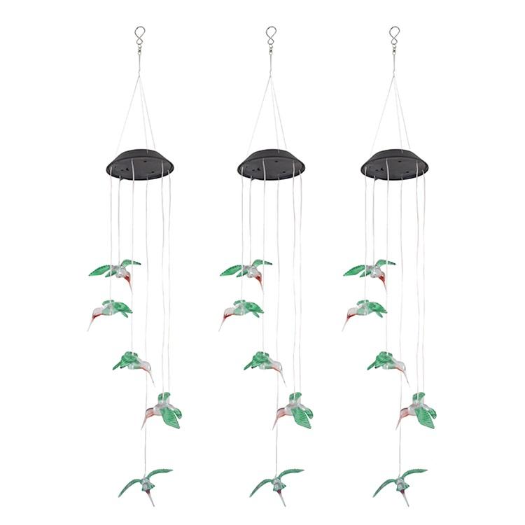 Led Wind chime Lampe Licht Wind Chime für Outdoor Indoor Gartenarbeit Hof Solar Powered Windchime wasserdicht