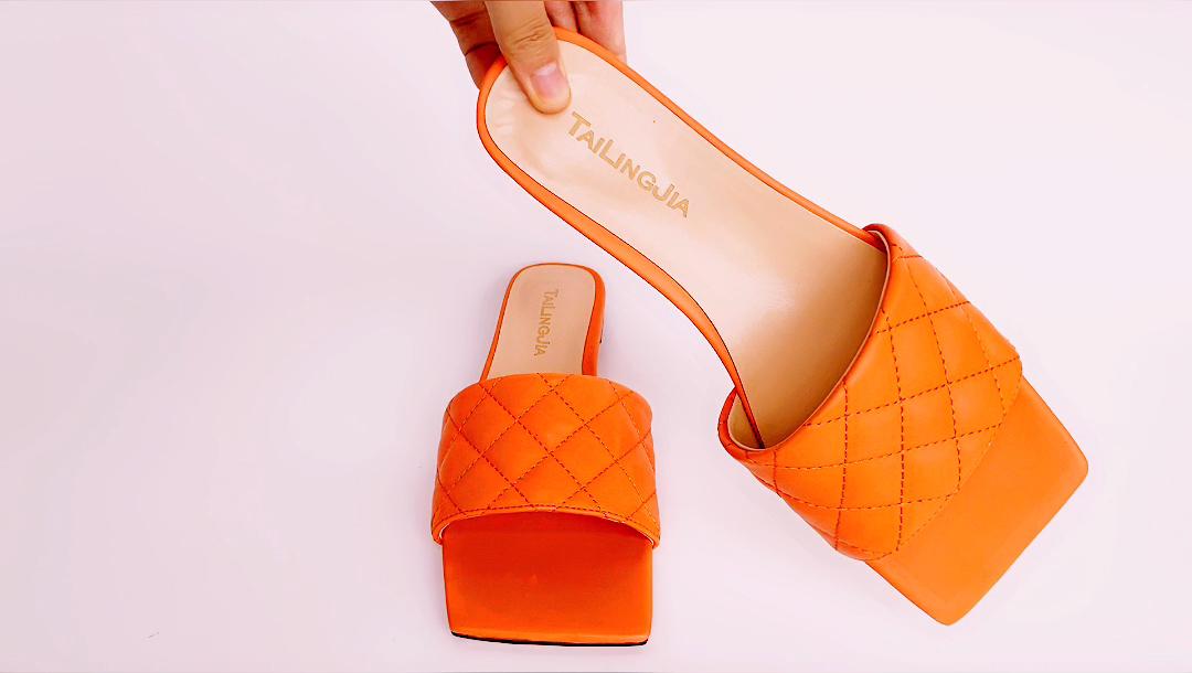 Большие размеры 2020 летние женские туфли в стиле «лолита» Пользовательские шлепанцы без задника с открытыми пальцами; Женские сандалии на плоской подошве; Для женщин;
