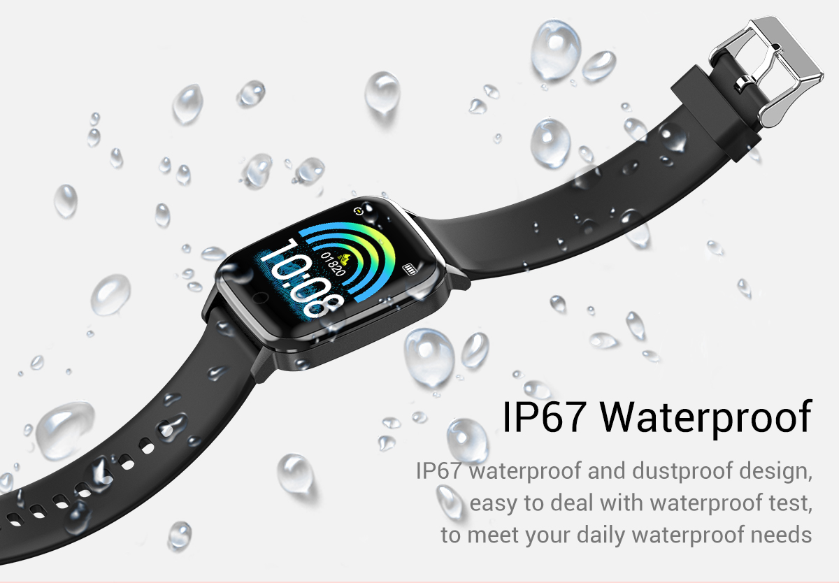 1.3 Inch Watch Smart Wristband Sport Blood Pressure IP67 Waterproof Smart Bracelet Heart Rate