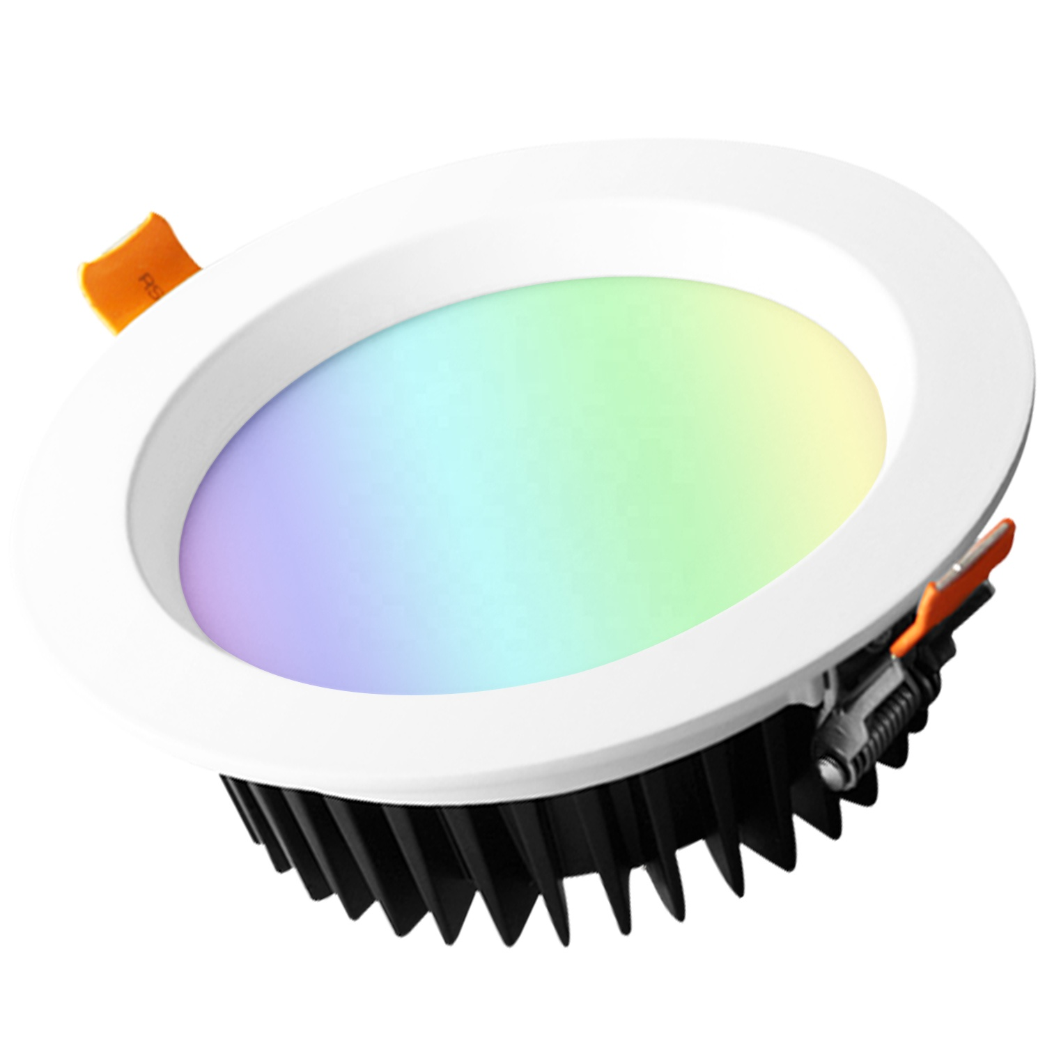 Smartthings Control Smart LED Downlights RGB CCT Color Changes ZigBee LED Downlight Recessed Gledopto ZigBee LED Down Lights 6W