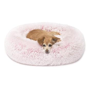 Dog Beds for Medium Small Dogs Self Warming Indoor Round Pillow Cuddler Dog Bed Pet