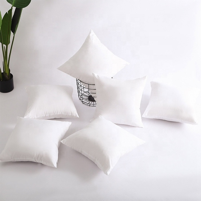 Factory Home Decor Luxury Pillow Core Sofa Throw Pillow pp Cotton Filling Insert