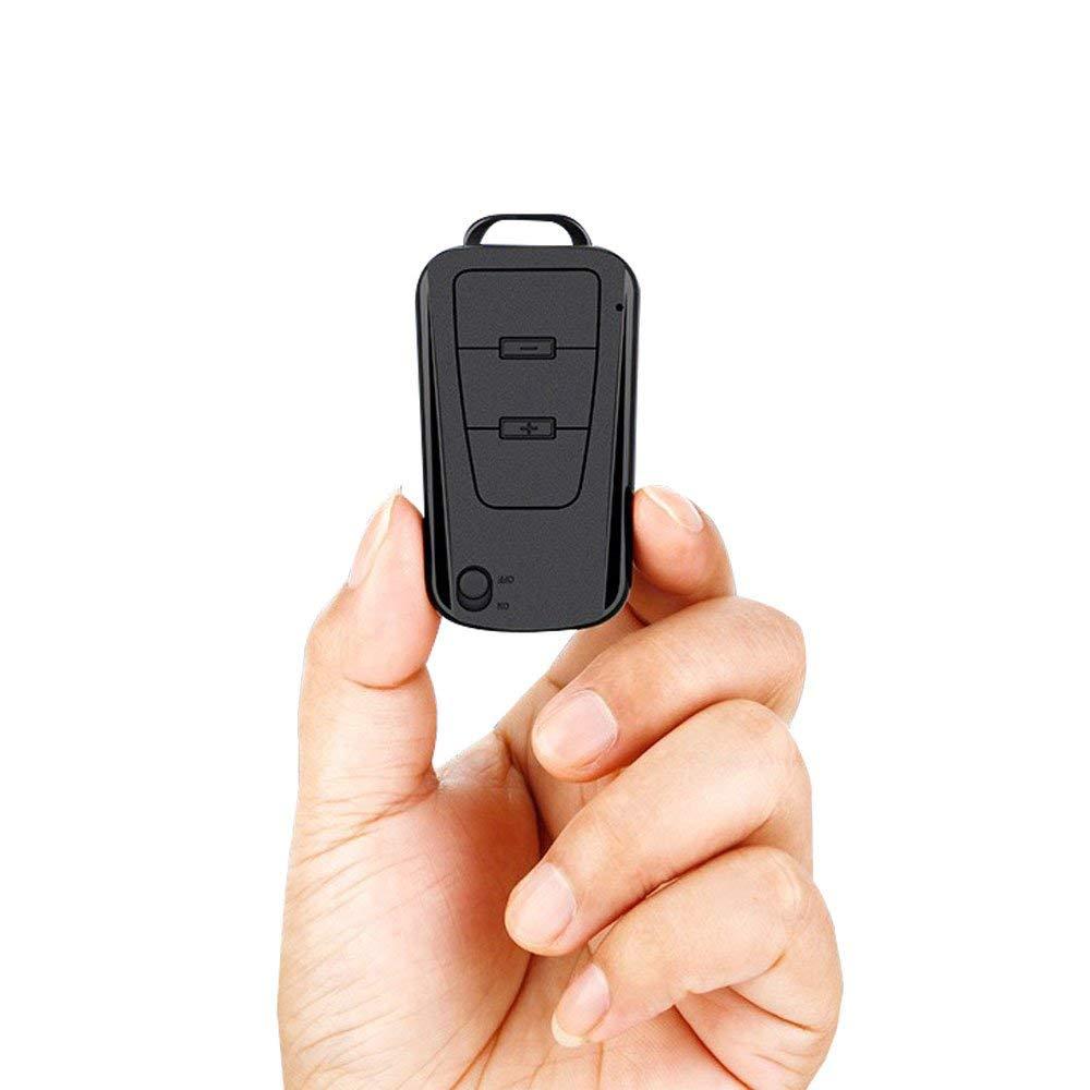 V8 Mini 16 GO 16G Longtemps Enregistrement Audio Voiture Clé Porte-clés Petit Portable Enregistreur Vocal Numérique