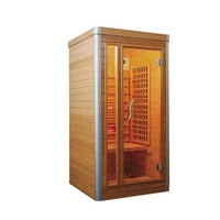 Factory direct sale 1 person traditional steam sauna room