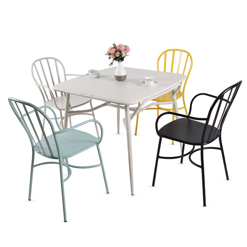 Открытый Кофейня мебель Наборы дизайн плетеные стулья и столы для садовых столов на открытом воздухе партии мебель стол и стул