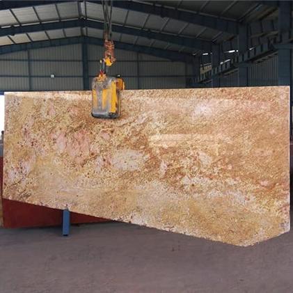 Imperial Gold 2CM Polished Granite Slab