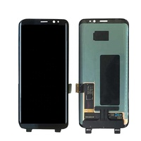 cell phone accessory display wholesale for note 8 screen replacement with frame for samsung lcd