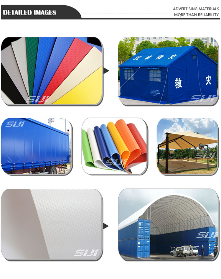 High quality PVC coated tarpaulin tent material
