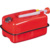 10 Litre Steel Jerry Gerry Gas Can 2.64 Gallon Horizontal Fuel Diesel Petrol Tank Carrier with Screw Cap & Flexible Spout