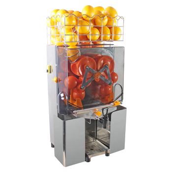 2000E-7 High quality Commercial Fresh orange juice extractor machine lemon juicer citrus juicer with Mechanical TAP