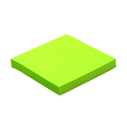 Super sticky notes strip shape note