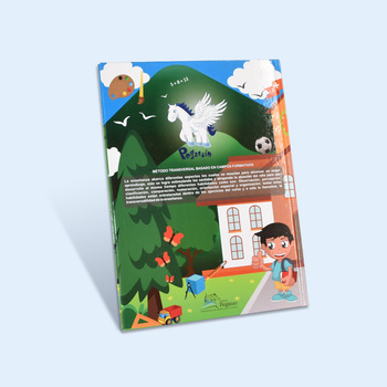 Spanish and English kids learning story book & printing service