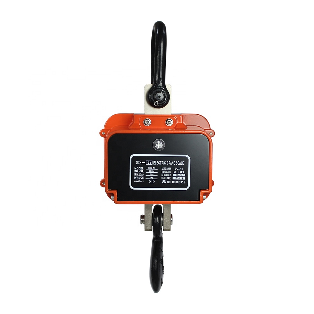 10 ton ocs Digital Hanging Scale Digital Crane Scale with Remote Control