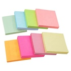 Square pastel colored wax paper n times sticky notes