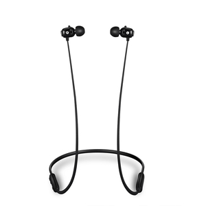 hifi  neck style stereo binaural ears wireless mp3 sport bt neckband bluetooth earbuds earphone with earplug and